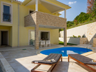 Enjoy sunbathing on these comfortable deckchairs by the pool - vacation house Sunny Rock, Croatia