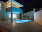The lightning creates a fabulous night atmosphere - vacation house Sunny Rock, Baska town