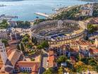 Luxury Hotel Secret Istria - historic Pula town
