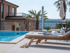 Enjoy lazy summer days n the private terrace by the pool - luxurious villa on Krk Island