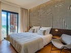 Each bedroom features a king-sized bed, en-suite bathroom and balcony